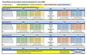 Moscrop-June2020-Schedule